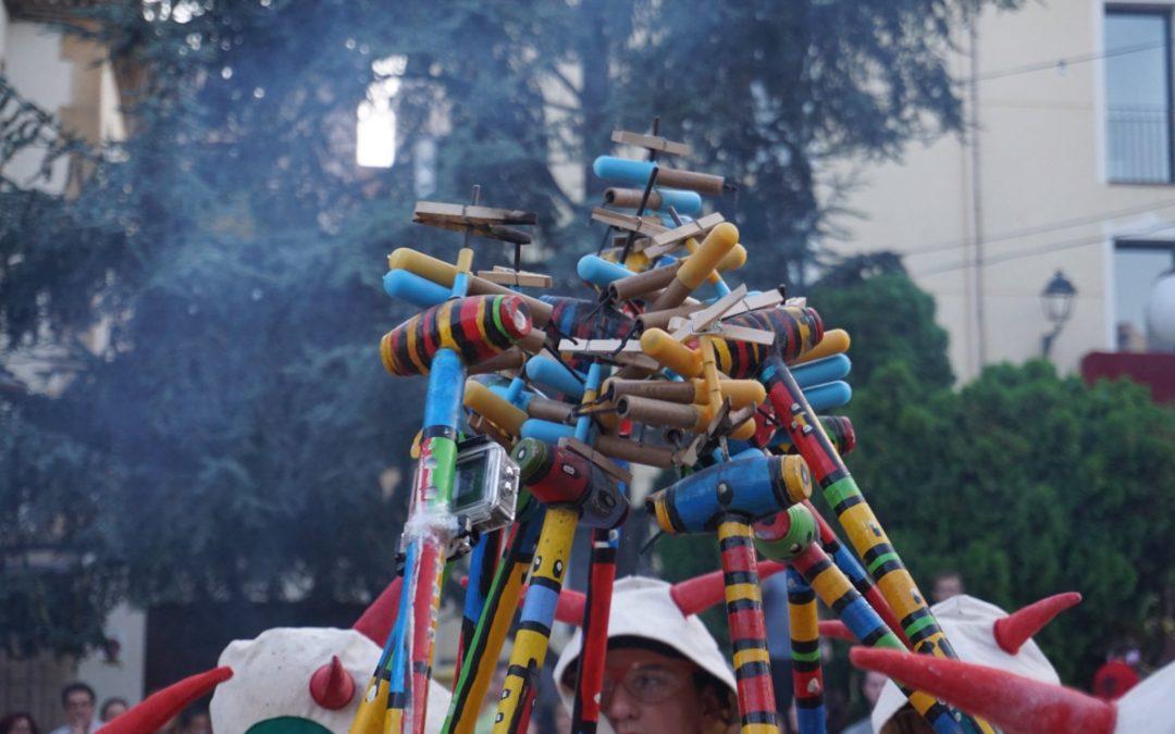 La Colla de Diablons participa en la 2a Trobada de colles infantils de diables de Juneda