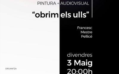Inauguració de l'exposició «Obrim els ulls», de Francesc Mestre Pellicé