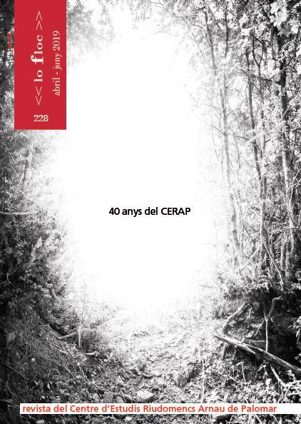Presentació de Lo Floc del 40è aniversari del CERAP