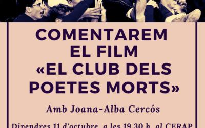 Comentari literari de la pel·lícula El club dels poetes morts