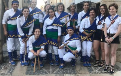 El Ball de bastons participa a la VIII Festa Bastonera de Cambrils