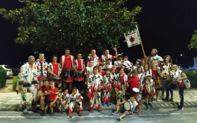 La Colla de Diablons participa a la 7a Tracalada de Bellpuig