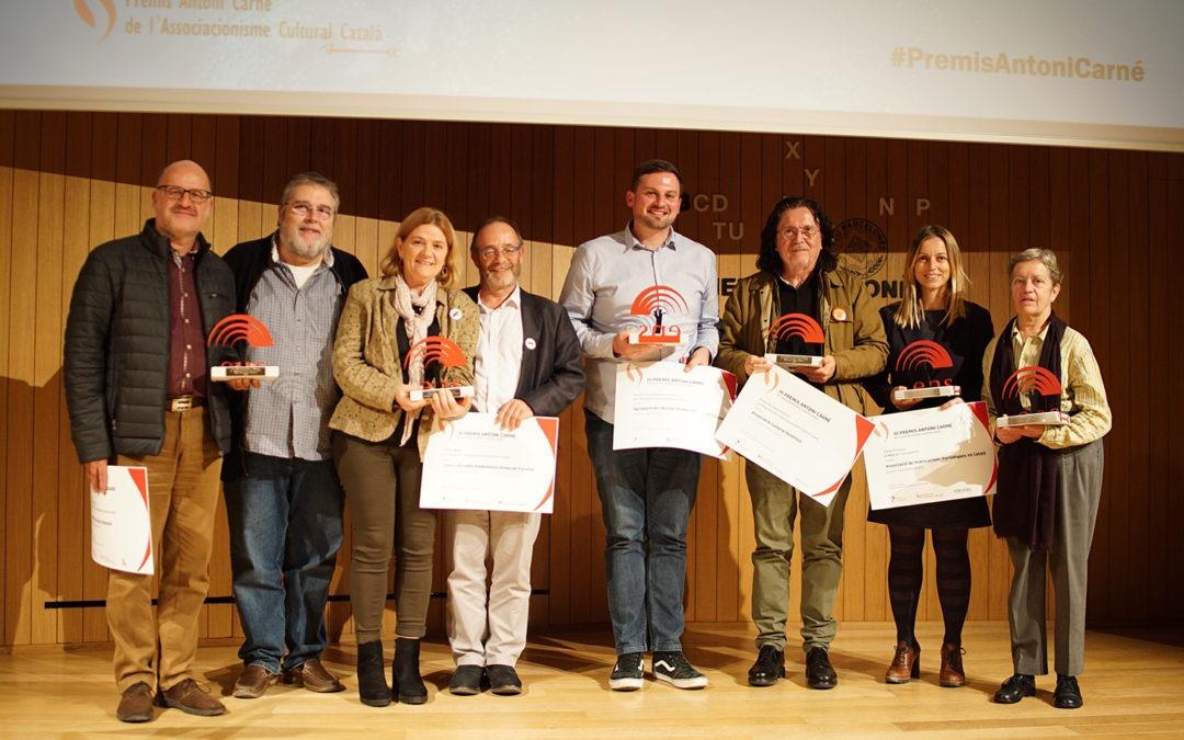 El CERAP guanya el Premi BBVA a l'Entitat de l'Associacionisme Cultural Català