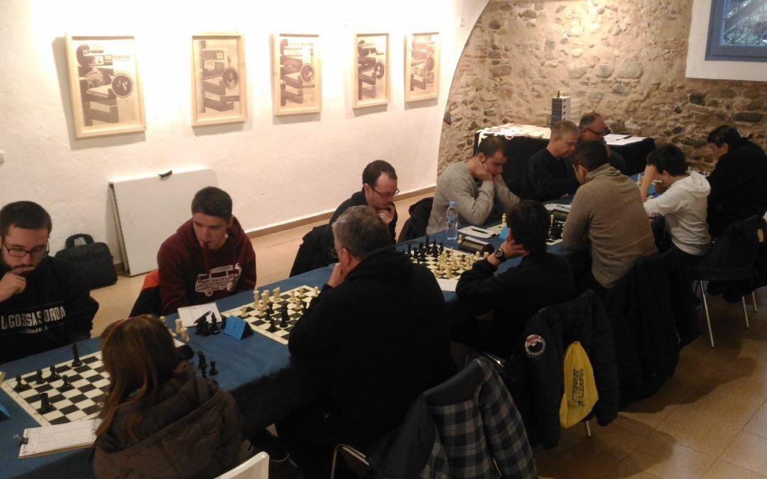 Preparació de la Lliga Catalana d'Escacs