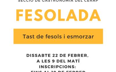 Fesolada: tast de fesols i esmorzar