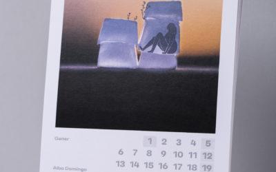Calendari 2020 de la Secció d'Art del CERAP