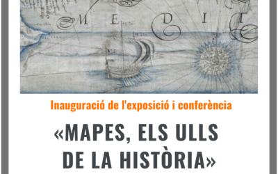 Reobertura de l'exposició «Mapes, els ulls de la història»