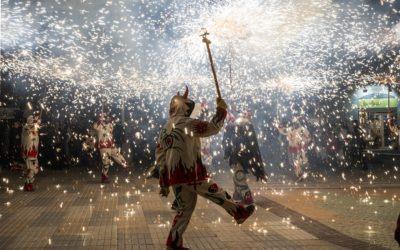 La Colla de Diables organitza el correfoc de la Festa Major de Botarell