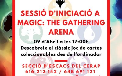 #laculturaacasa: Sessió d'Iniciació a Magic: The Gathering Arena