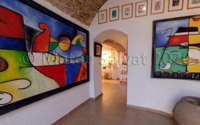 #laculturaacasa: Visita virtual a l'exposició «Mar d'emocions», de Josep M. Aran