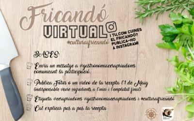 #laculturaacasa: Fricandó Virtual