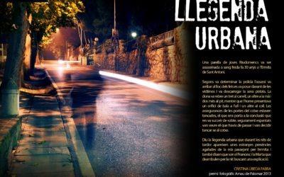 #laculturaacasa: «Llegenda urbana», de Cristina Úbeda