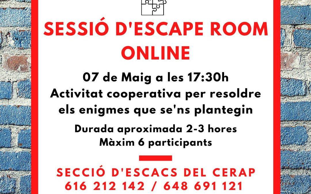 #laculturaacasa: Sessió d'Escape Room