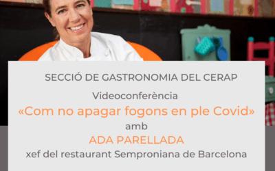 #laculturaacasa: videoconferència amb Ada Parellada