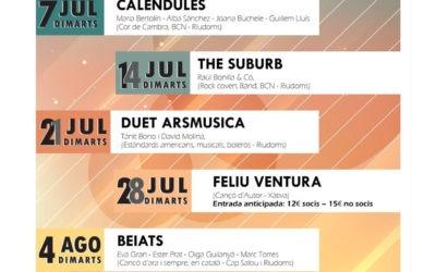 Cicle de concerts a la fresca «Riudoms canta»