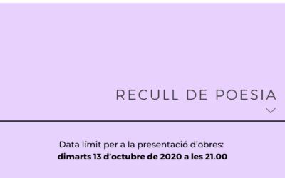Premis Arnau de Palomar 2020: Recull de poesia
