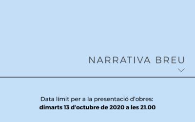 Premis Arnau de Palomar 2020: Narrativa breu