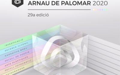 Premis Arnau de Palomar 2020: la pandèmia no ens ha aturat