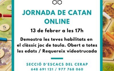 Jornada dedicada al joc de taula Catan online