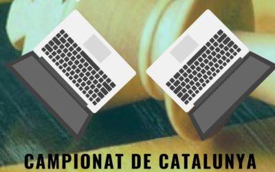 Participació en el Campionat de Catalunya per equips online actius d'escacs