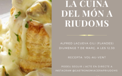 «La cuina del món a Riudoms»: Alfred Lacueva Gili