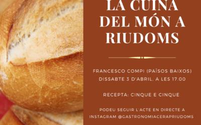«La cuina del món a Riudoms»: Francesco Compi