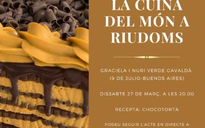 «La cuina del món a Riudoms»: Graciela i Nuri Verde Gavaldà