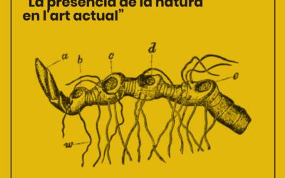 Conferència «La presència de la natura en l'art actual», a càrrec d'Antoni Salcedo
