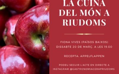 «La cuina del món a Riudoms»: Fiona Vives