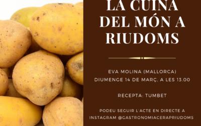 «La cuina del món a Riudoms»: Eva Molina
