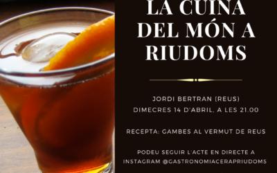 «La cuina del món a Riudoms»: Jordi Bertran
