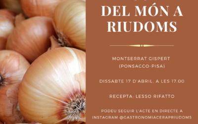 «La cuina del món a Riudoms»: Montserrat Gispert