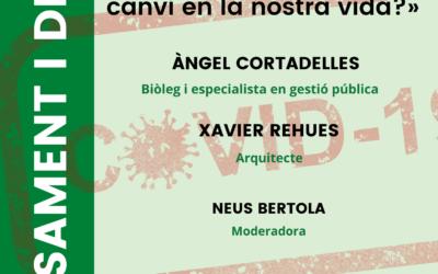 Cicle «Una visió humanista de la pandèmia»