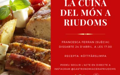 «La cuina del món a Riudoms»: Francesca Ferran