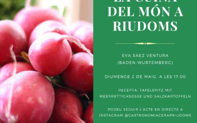 «La cuina del món a Riudoms»: Eva Sáez Ventura