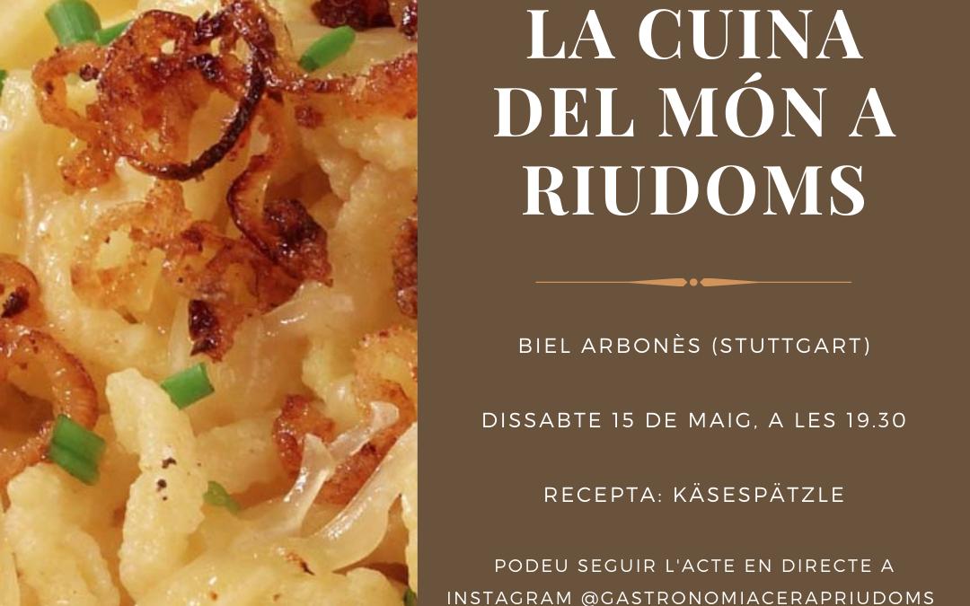 «La cuina del món a Riudoms»: Biel Arbonès Domingo