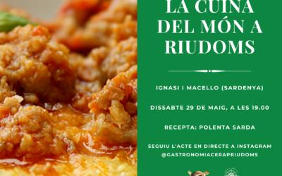 «La cuina del món a Riudoms»: Ignasi i Marcello
