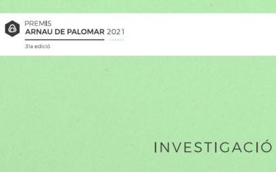 Premis Arnau de Palomar 2021: Investigació