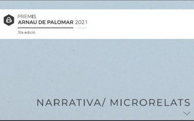 Premis Arnau de Palomar 2021: Microrelats