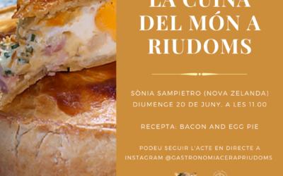 «La cuina del món a Riudoms»: Sònia Sampietro