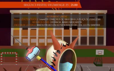29è Correfoc dels Diables de la Festa Major de Sant Jaume