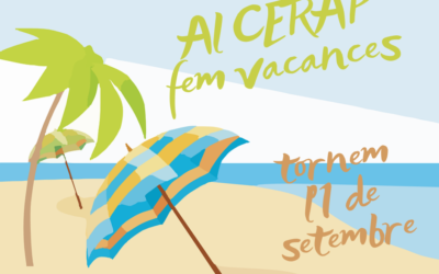 L'oficina del CERAP tanca per vacances del 9 al 31 d'agost
