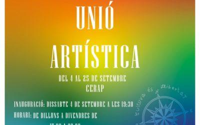 Exposició «Unió artística», d'Elsa Viñuales i Fran Molina