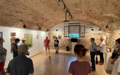 Visita guiada a l'exposició «Comptar el temps», de Tània Padrell